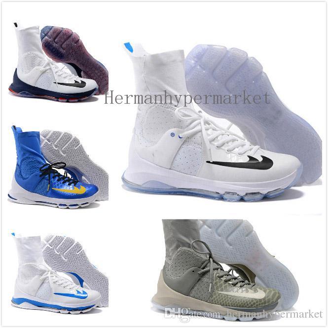 Compre Con La Caja De Los Zapatos Alto Kevin Durant Kd 8 Viii De La ...