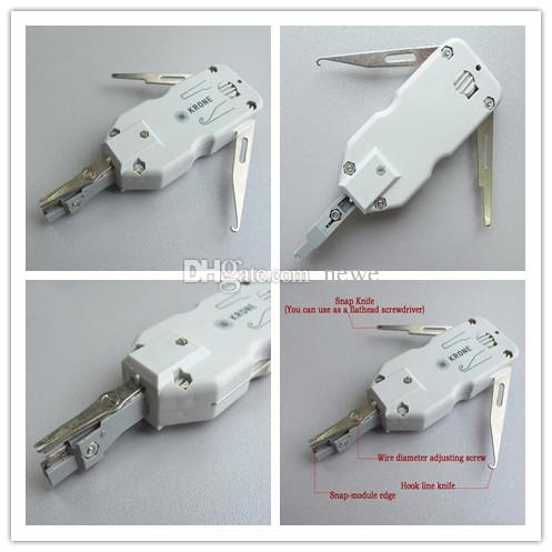 New Arrive Classic Short Krone Wire Cutter Knife Snap Wire Cutter