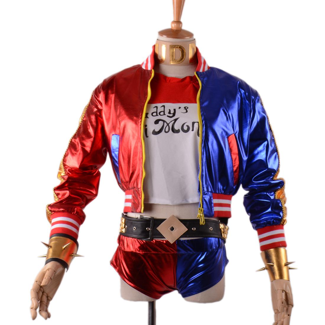 Suit Suicide Squad Harley Quinn Costume Women Sexy Party Cosplay ...