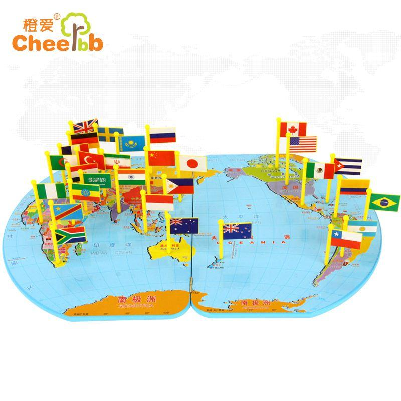 2018 orange love world map flag flag jigsaw puzzle child solid see larger image gumiabroncs Images