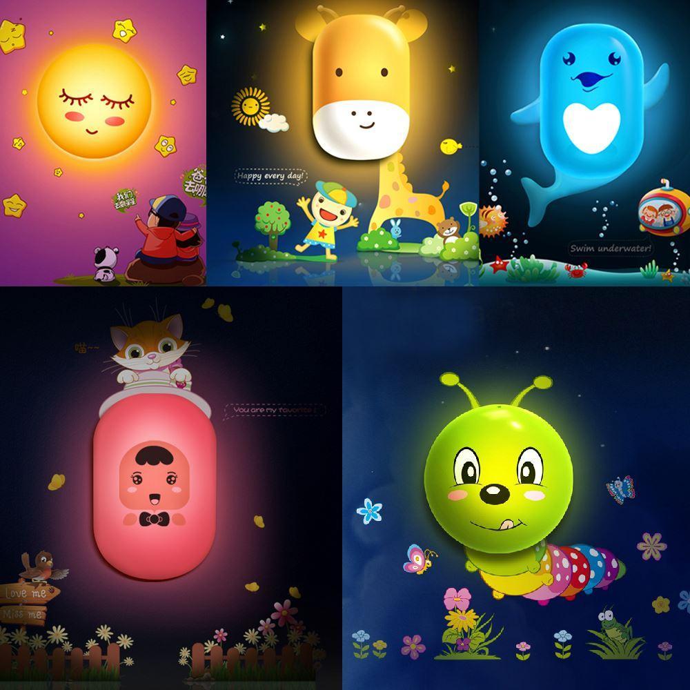 best 3d cute cartoon led light control wall lamp snail owl bee 3d cute cartoon led light control wall lamp snail owl bee night light bedroom wall sticker decal