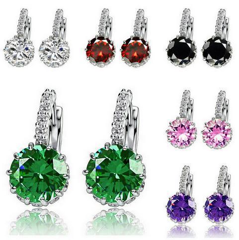Sehr hohe Qualität Diamantohrringe für Frauen, einfache Artdiamantdekoration, edel für Damen, freies Verschiffen