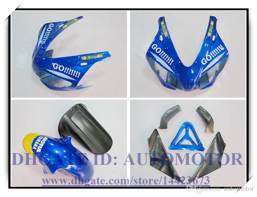 Injection brand new fairing kit 100% fit for YAMAHA YZF1000 YZF R1 1998-1999 YZFR1 1998 1999 YZF R1 98 99 #BA772 COLOUR BLUE