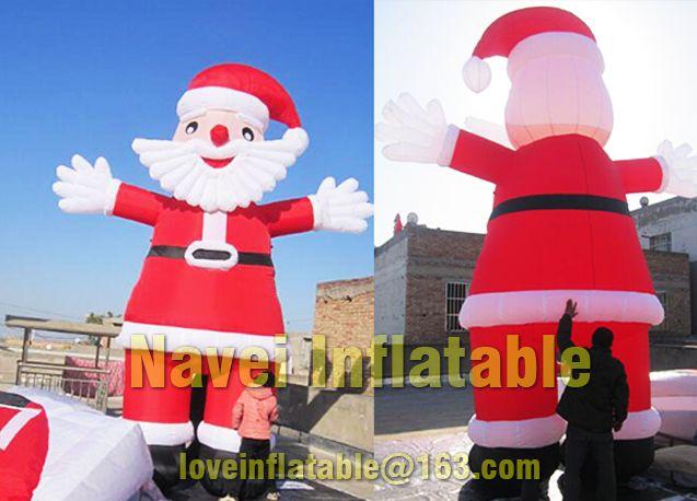 5m Christmas Decoration Inflatable Santa Claus Inflatable Christmas Decoration