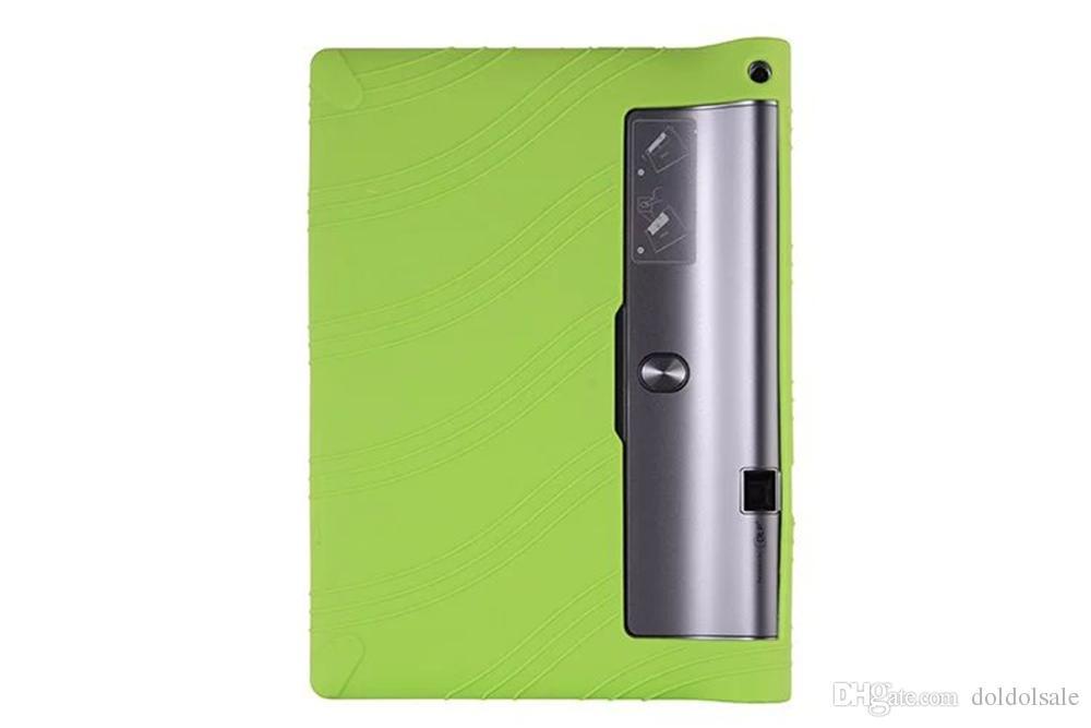 "Soft Silicon Back Cover for Tablet 10.1"" Lenovo YOGA Tab 3 Pro 10 X90 X90L X90F YT3-X90L YT3-X90F Silica Gel Protective Case"