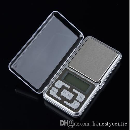 Высокая точность 500 г 0.01 г светодиодный цифровой дисплей портативный мини ювелирные карманные весы с коробкой