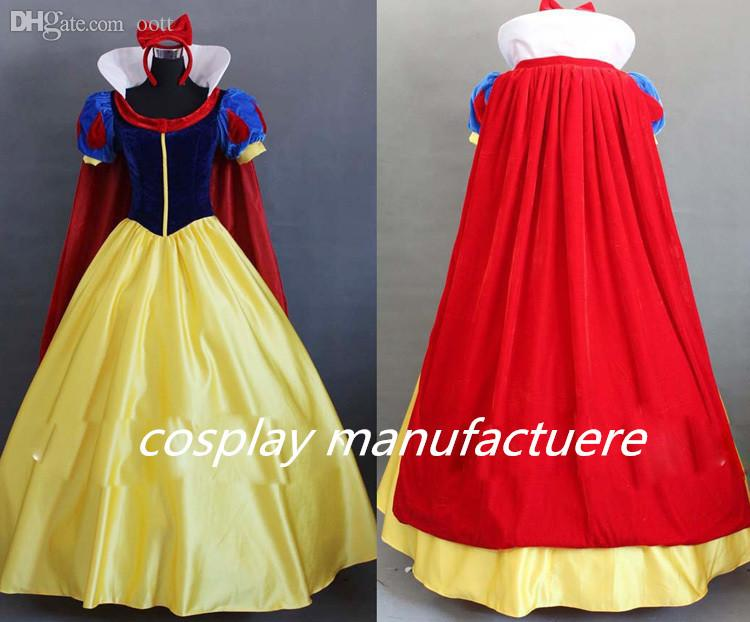 Wholesale Women Fantasia Princess Snow White Cosplay Costume Carnival  Disfraces Party Women Adult Snow White Costumes Anime Cosplay Wig Game Of  Thrones ... a8b583e591