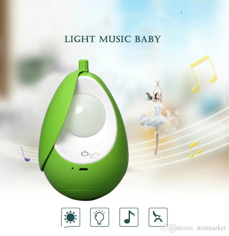 XYD05 Eye Protection LED light USB Chargeable 3 Lighting Mode Dimmable Bedroom Bedding Feeding Baby Nightlight Built-in Music Nursery lamp