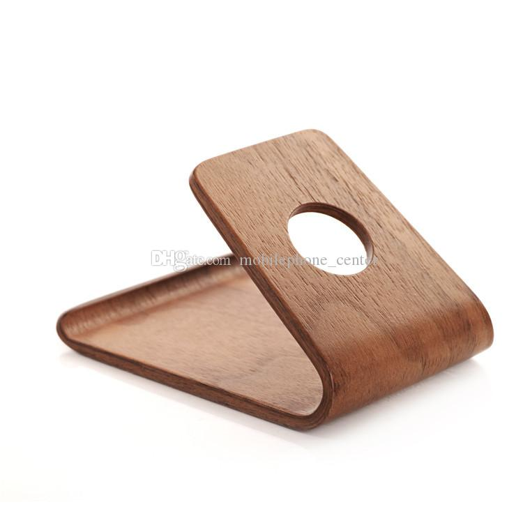 Original SAMDI Wood Holder Stand for iPhone 6 6plus for Samsung Note3 Note4 S4 S5 and all more than 5 inch Mobile Phone good quality