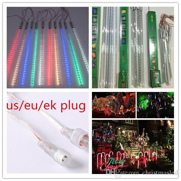 500000 H 8w 2835 patch Meteor shower Tubes LED Mini Meteor Lights LED Strings Holiday Light LED Christmas Light Garden Decoration