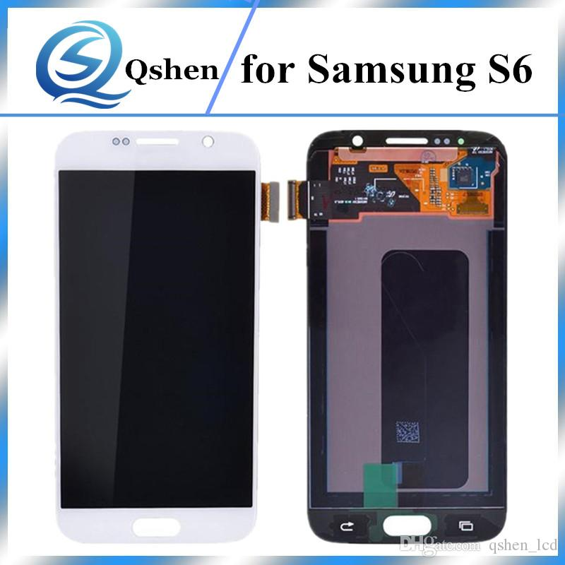 No Dead Pxiel LCD Touch Display Screen Replacement With Digitizer Assembly Complete For Samsung Galaxy S6