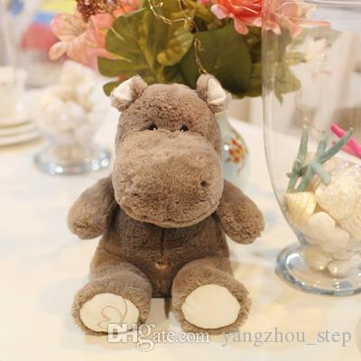40cm Super Cute Hippo Stuffed Animal Toy Soft Hippo Doll Christmas Gifts for Kids