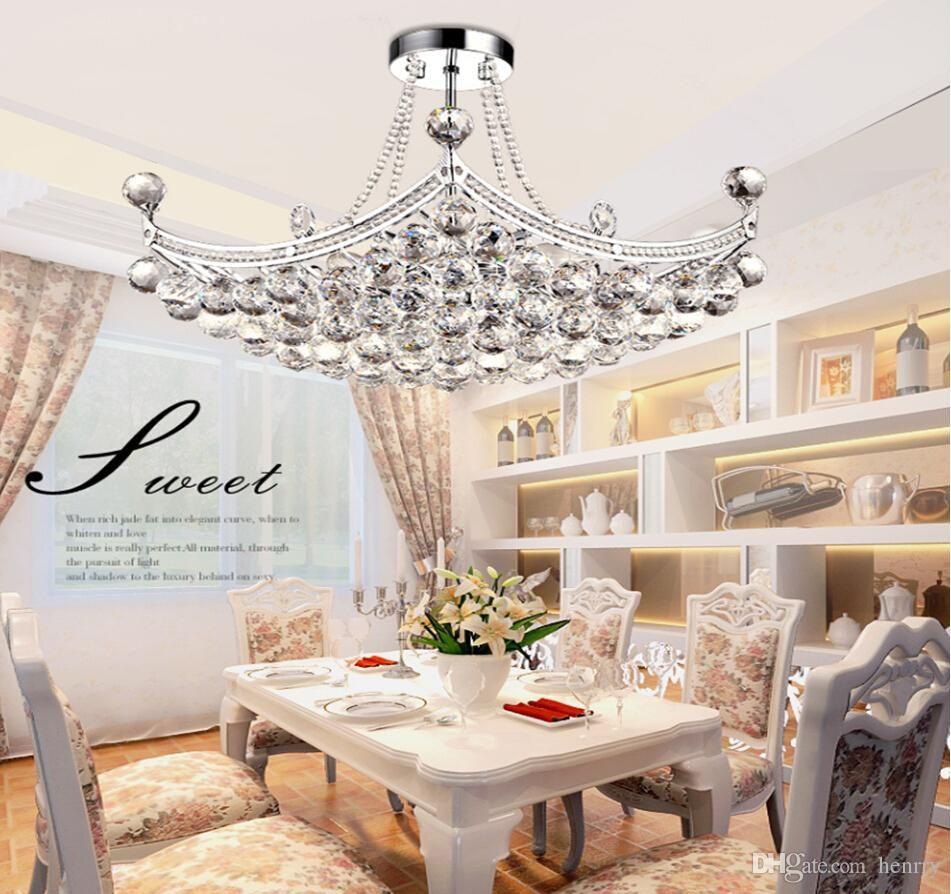 Wholesale European Low Key Luxury Led Crystal Chandeliers. Led ...
