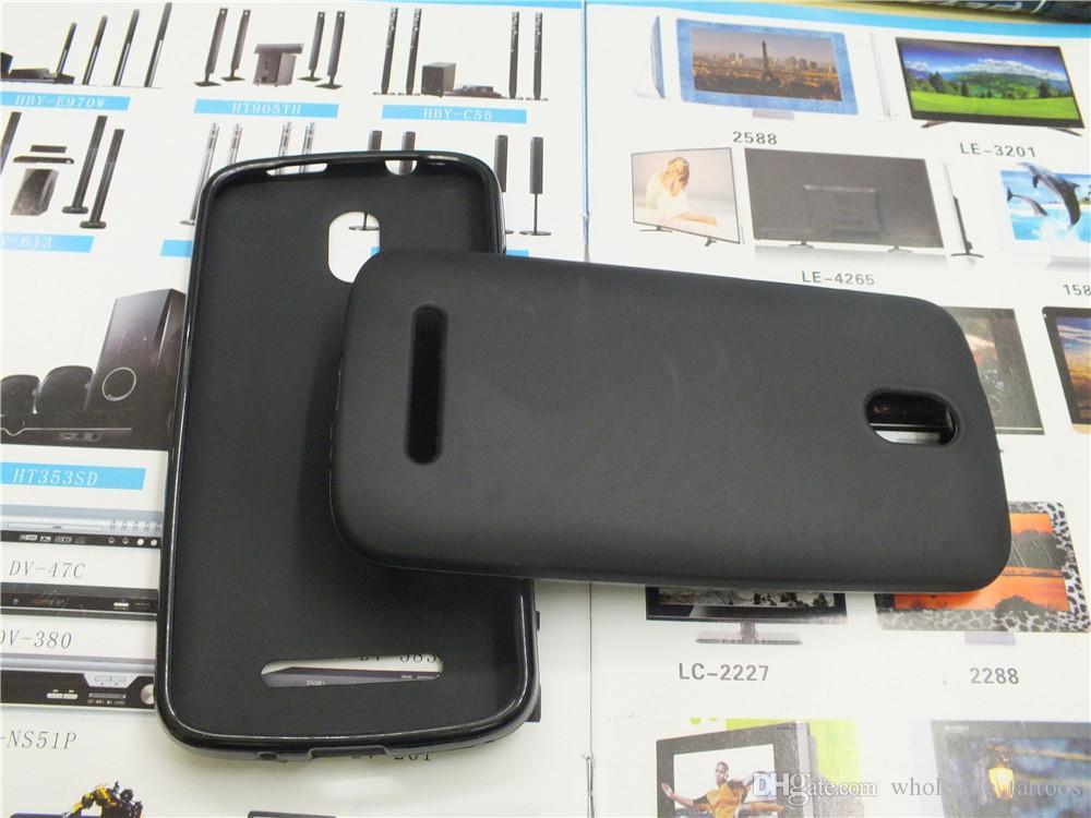 Fundas de teléfono TPU suaves para HTC Desire 500 cubierta de gel de silicona Shell Hood