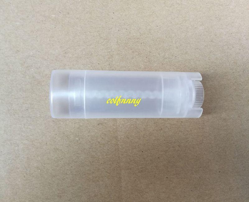 / Livraison rapide 4.5g vide tubes à lèvres ovales tubes tube conteneurs de désodorisant boîte couleurs aléatoires