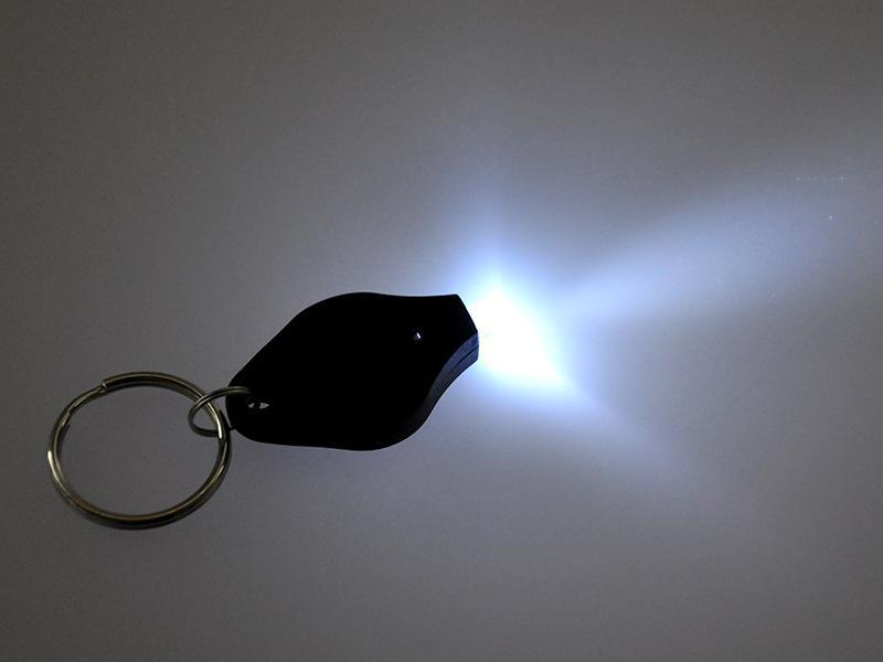 미니 토치 키 체인 키 링 화이트 LED 조명 UV LED 전구 톤 II 광자 2 빛 LED 키 체인 손전등 미니 빛 최고의 선물 7E