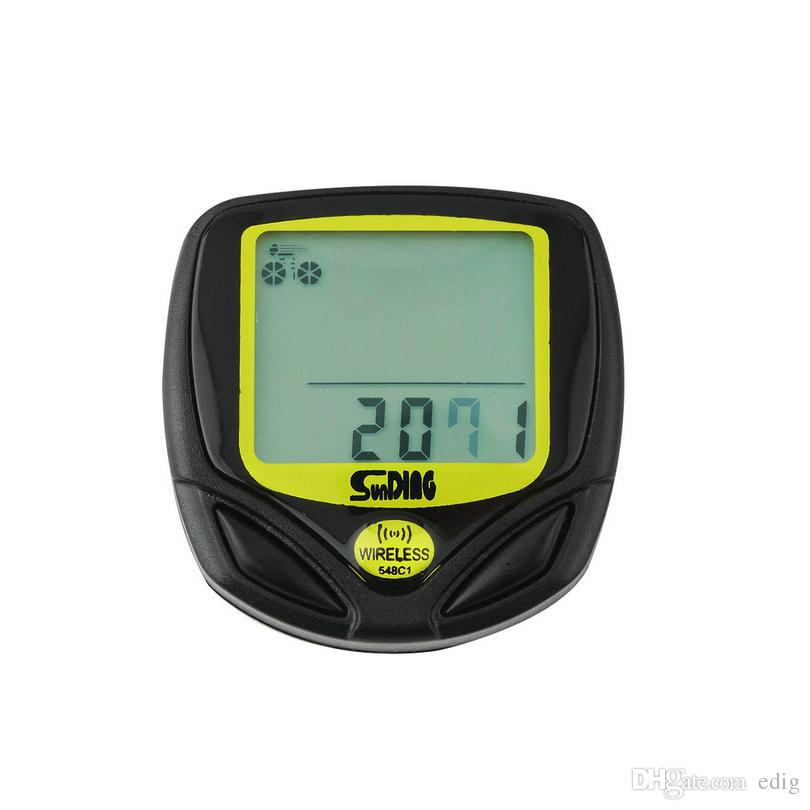 SUNDING SD-548C1 Ordinateur de vélo sans fil Étanche Compteur De Vélo Vélo Compteur De Vitesse Avec Affichage LCD Compteur De Vitesse Vélo Nouvelle Arrivée