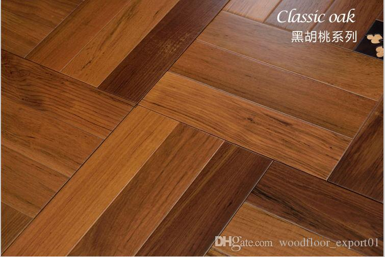 Walnut Wood Timber Flooring Parquet Floor Hardwood Flooring Hardwood