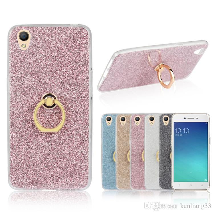 more photos 85437 acd8f Bling Bling Case For OPPO A37 protective phone case ring holder for OPPO  A37 phone case