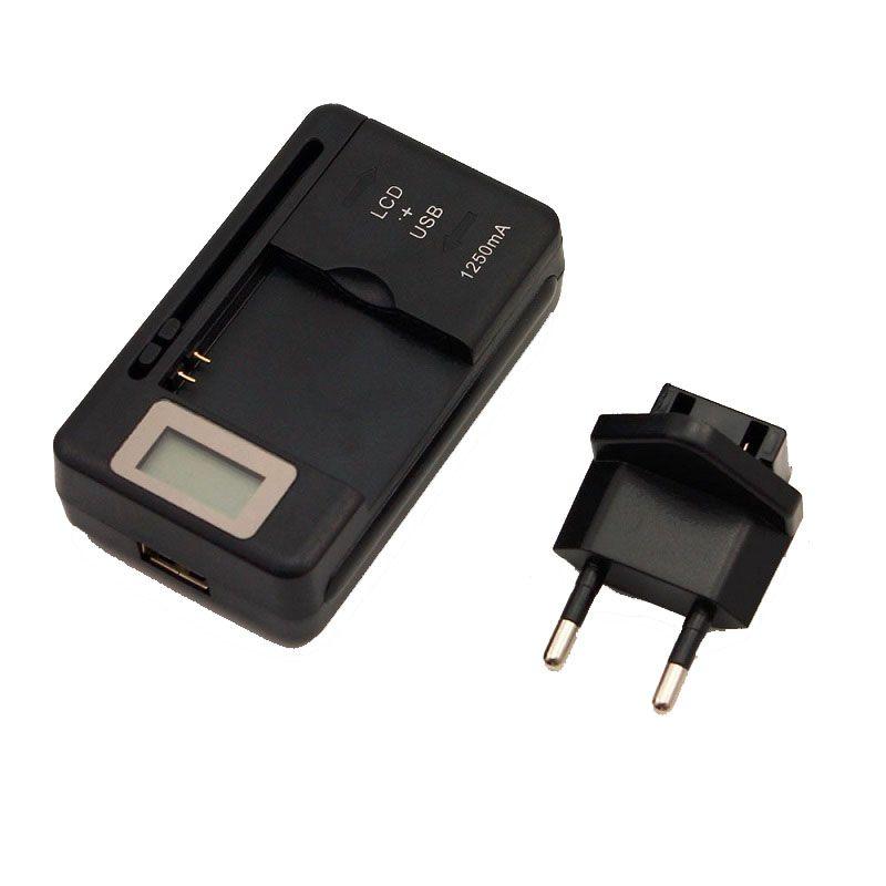 범용 지능형 LCD 표시기 배터리 충전기 samsvng GALAXY S4 I9500 S3 I9300 참고 3 USB 출력 충전 US EU AU PLUG