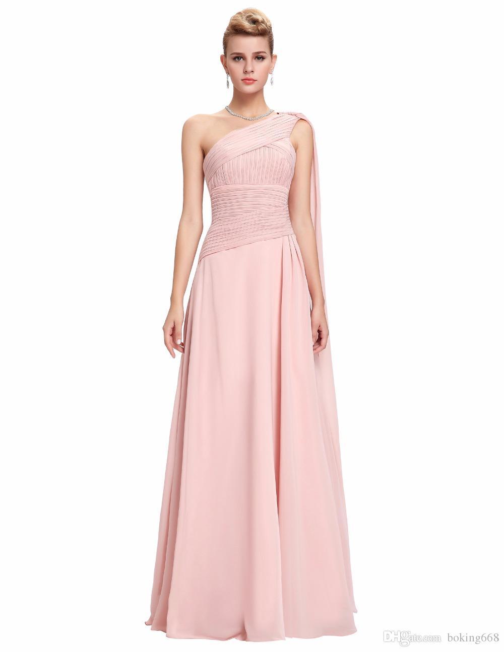b490aba075426 Satın Al Pembe Uzun Tek Omuz Gelinlik Modelleri 2019 Dantel Bayanlar Resmi  Elbise Kolsuz Arapça Streamer Ünlüler Balo Elbise Parti Spe ..., $66.18 |  DHgate.