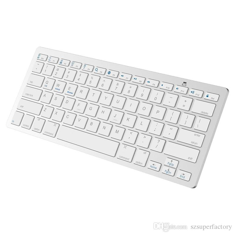 88ec5e13e56 Ultra Slim Wireless Keyboard Bluetooth 3.0 For All Windows Android IOS PC  Tablet ASUS VivoTab Note 8 Microsoft Surface HP Stream Dell Venue Keyboard  Laptop ...