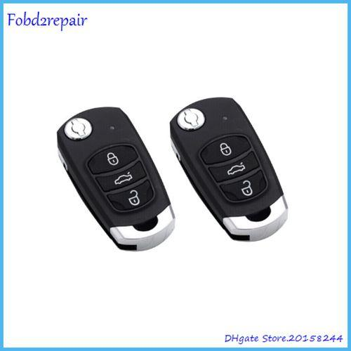 Fobd2repair Acartool motorcycle anti-theft device remote key fob self cloning 433mhz fixed code remote duplicator transmitter A343