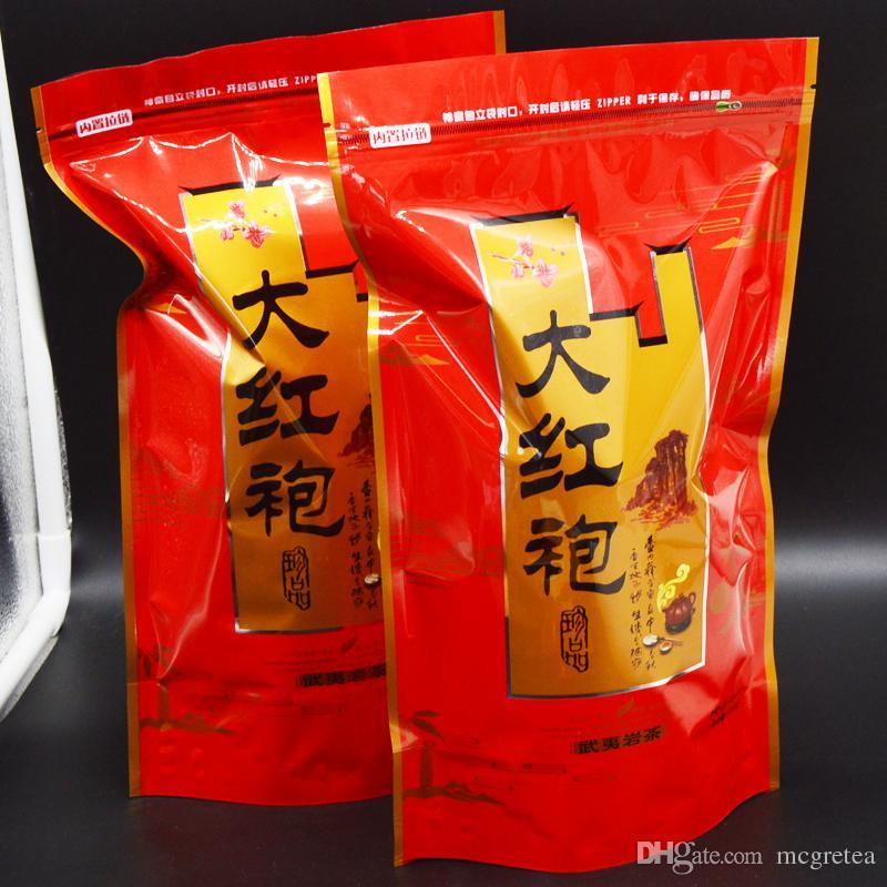 Vendas direto da fábrica 250g Top Grade 2019 clovershrub DaHongPao Robe vermelho dahongpao Chá o chá frete grátis + presente