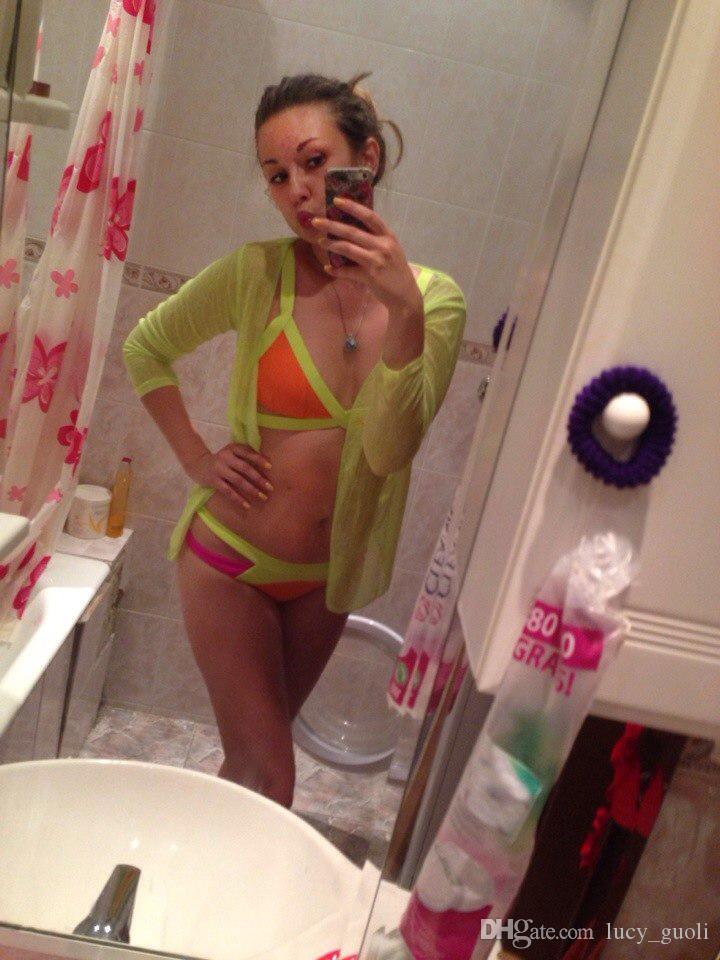 2016 Nuovo Costume Da Bagno Stile Estivo Bikini Sexy Moda Dinamica Fasciatura di Colore Marca Gini Bikini Set Costumi da bagno Spiaggia Biquini Brasil ...
