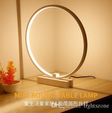 Acquista Lampade Da Tavolo Moderne A Led In Alluminio Soggiorno A ...