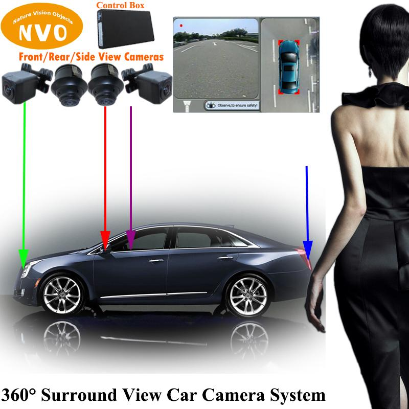 2018 360 Degree Around View Bird S Eye View Car Camera