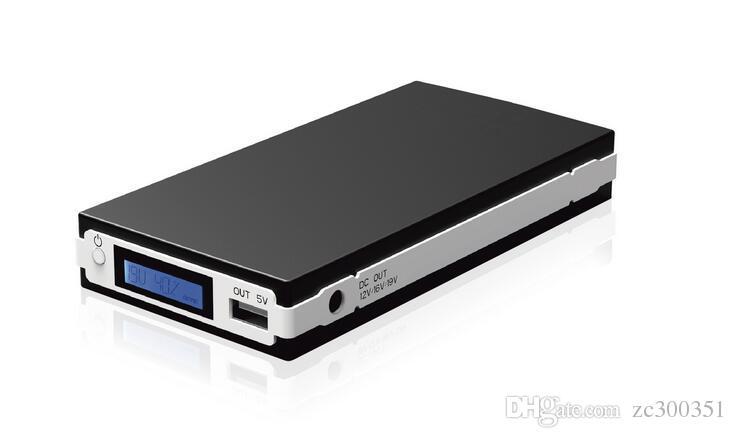 Dizüstü Güç Bankası 20000mAh Şarj taşınabilir Pil externalbattery Şarj için Tablet PC Cep telefonu