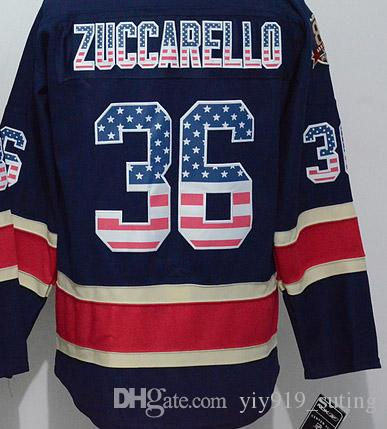 outlet store 6300d 6565b mens new york rangers 36 mats zuccarello usa flag fashion ...