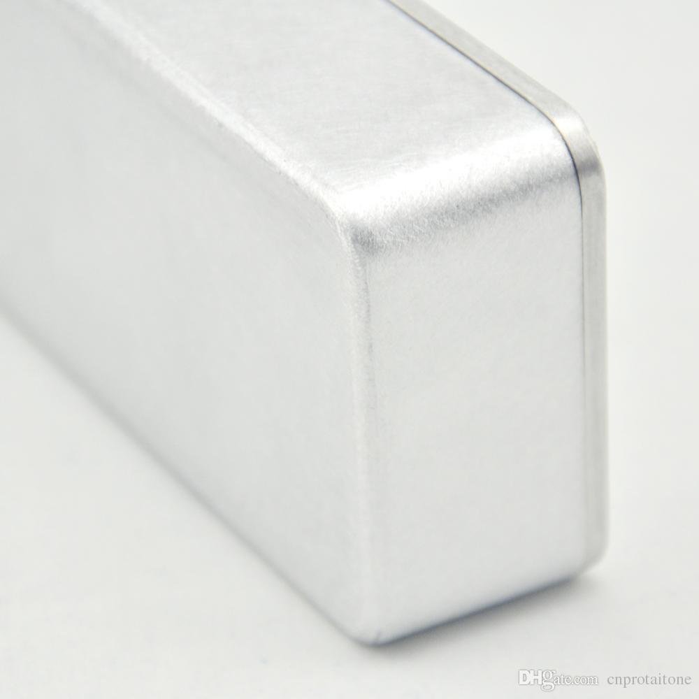 5 Pz / lotto 1590B / PB-N1160 Effetti di stile pedale in alluminio Stomp Box recinzione chitarra,