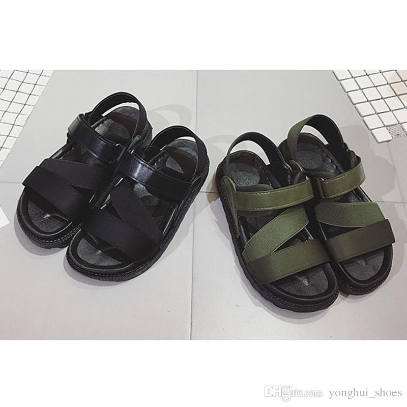 Women Beach Sandals Summer Casual Flat Shoes Flatform Shoes Roman ...