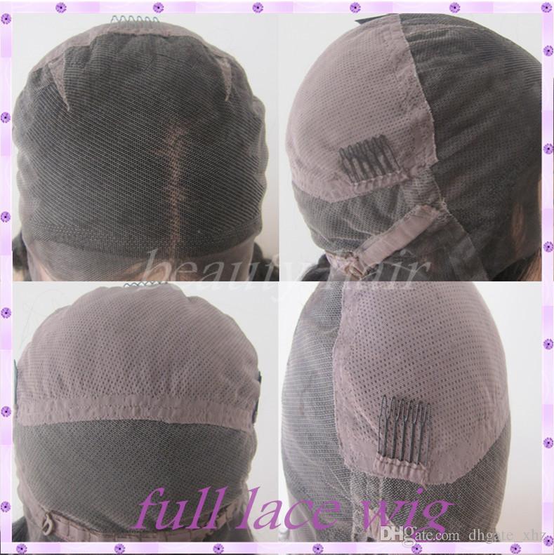 Hot Selling Brazilian Virgin Hair Glueless Lace Front Human Hair Wigs Black Women Silky Straight Glueless Full Lace Wigs