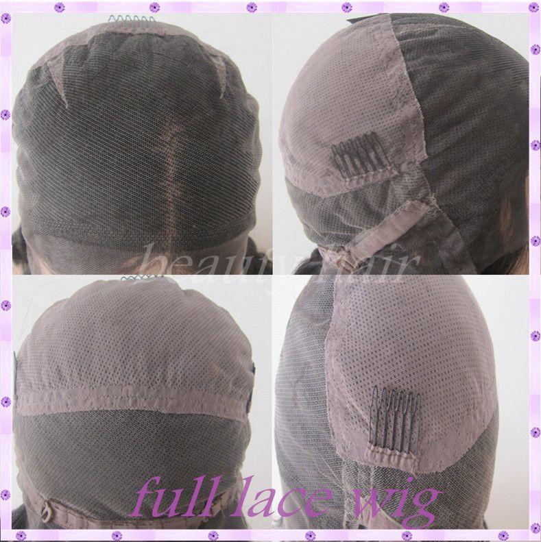 Two Tone 1b#30 Ombre Brazilian Deep Wavy Human Hair Wigs Glueless Full Lace Wigs Lace Front Wigs For Black Women