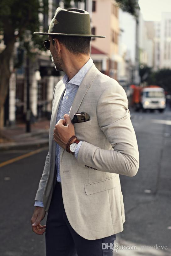 Custom made Cool Groom Tuxedos Two Pieces Slim Fit Formal Men Suit High Quality Men Wedding Suits