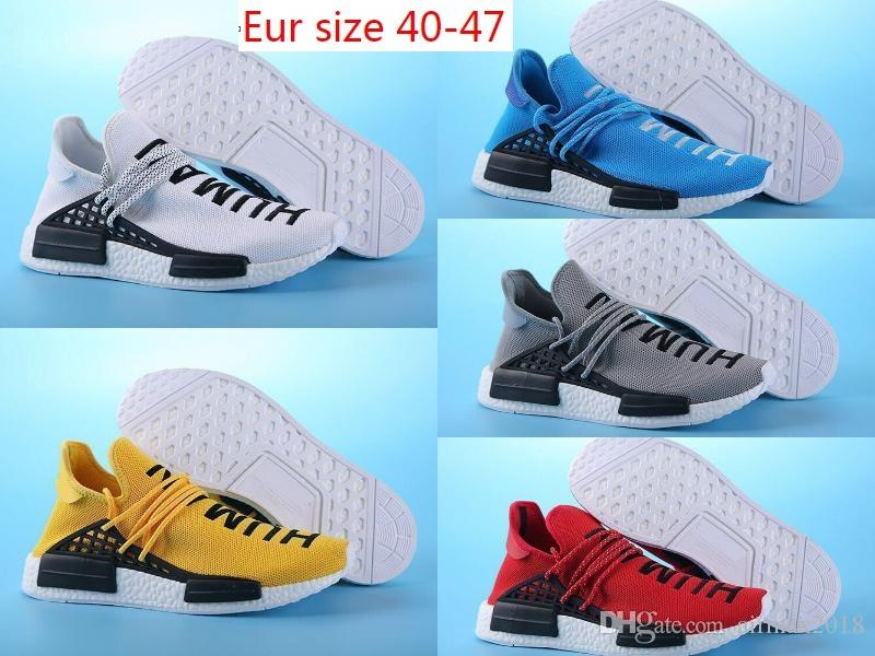 19ea3d9abd8299 2018 98 Summer KITH Huarache All White Mens Women Human Race Running  Humanrace Skateboard Shoes Eur Size 36-47 Online with  59.18 Pair on  Airmax2018 s Store ...