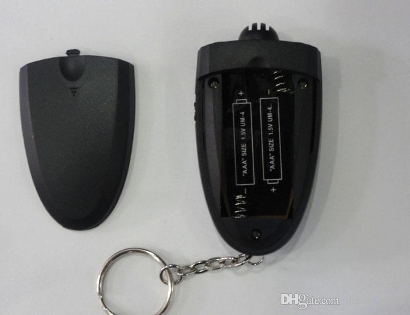 Mini Alcohol Tester Digital Breathalyzer Key Chain Alcohol Tester Alcohol Breath Analyze Tester with flashlight