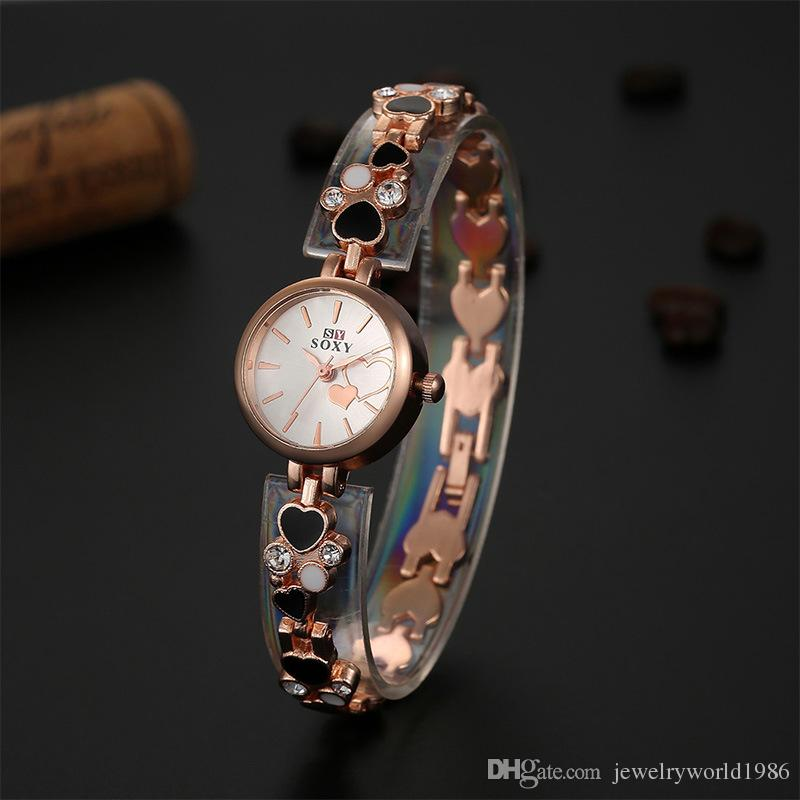 Fine new style thermal models female korean version of the creative watches ladies diamond for Thermal watches