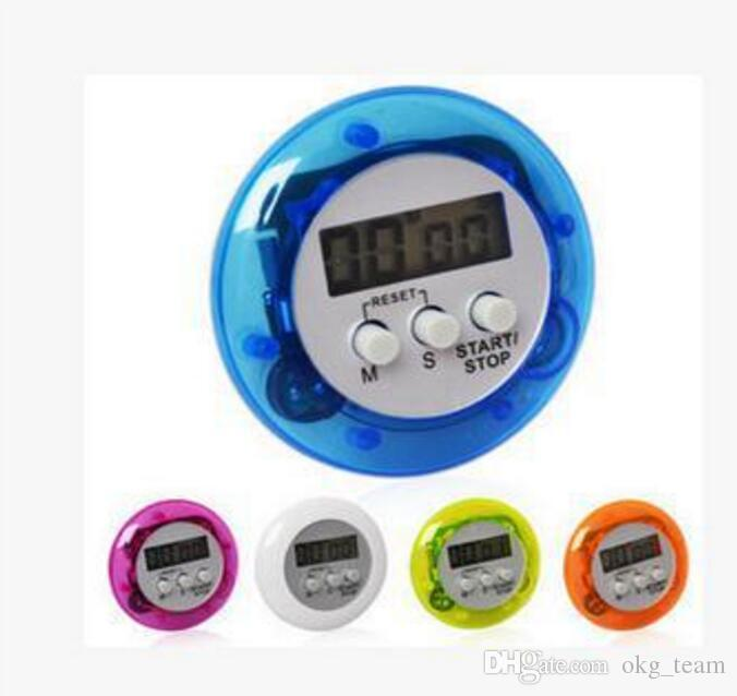 Novelty Digital Kitchen Timer Kitchen Helper Cooker Timer Mini Digital LCD Kitchen Count Down Clip Timer Alarm