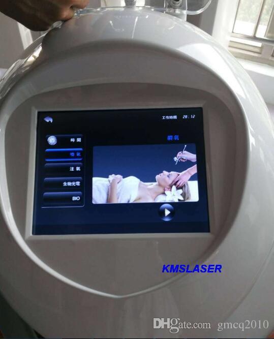 Hydra facial Water Oxygen Jet Oxygen jet Spray BIO Electricity LED Light Photon Skin Rejuvenation Facial Skin Care Acne Removal machine