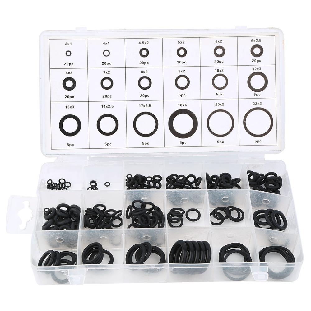 New Universal Tool 18 Sizes 225 X Rubber O Ring O-Ring Washer Gasket ...