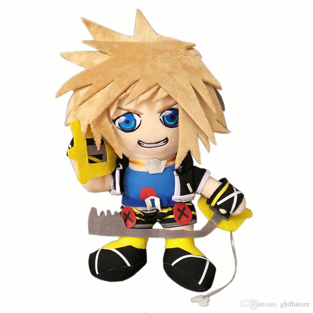 Sora Kingdom Hearts 1520074: 2019 Hot New 12 30CM Kingdom Hearts Sora Plush Doll Anime
