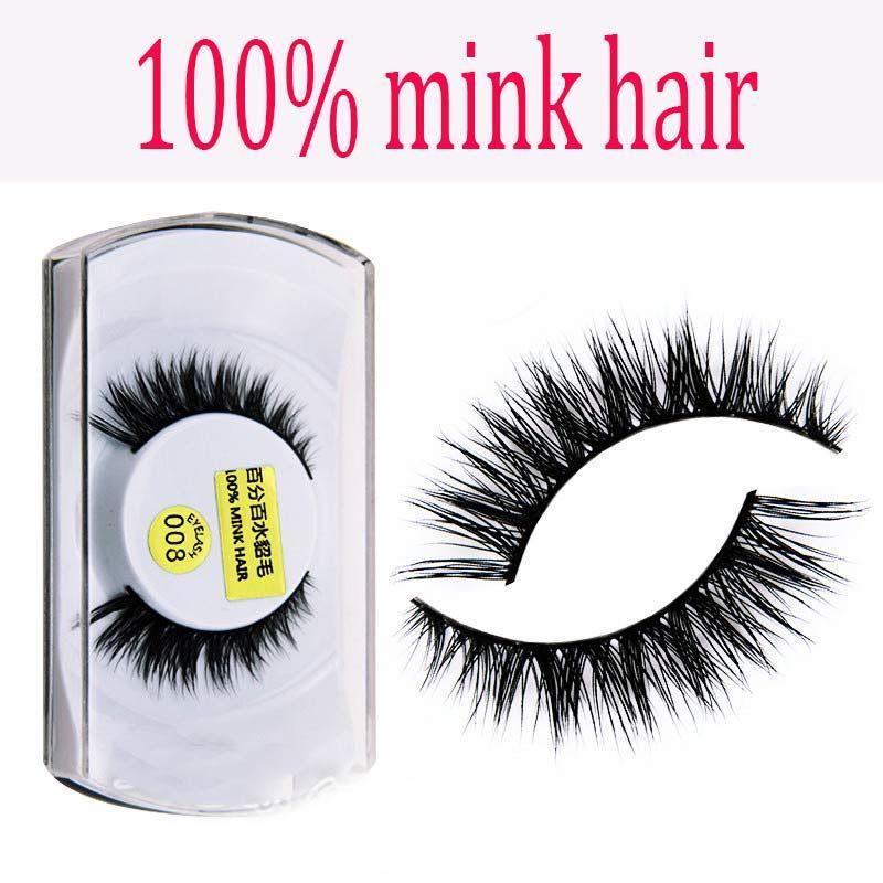 15 Styles 001 015 100 Real Mink Eyelashes Natural Long Thick