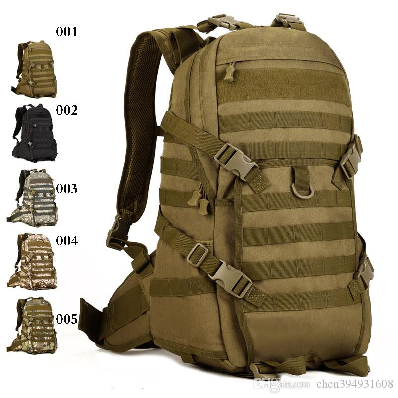 e4ce9d7def 2019 2016 New Outdoor Sports Camping Climbing Hiking Nylon Bags TAD Second  Tactical Backpack Men S Bag YKK Zipper From Chen394931608