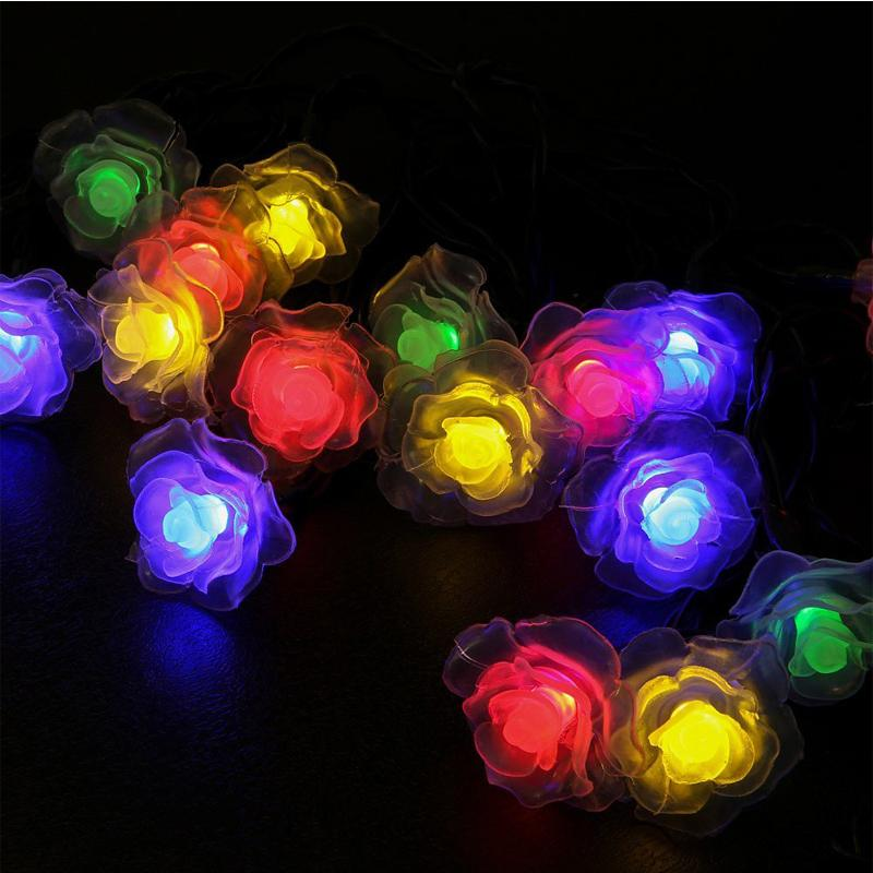 Online cheap wholesale solar lamps 48m 20led rose romantic online cheap wholesale solar lamps 48m 20led rose romantic decoration lights fairy waterproof garland outdoor solar powered led christmas string light by aloadofball Choice Image