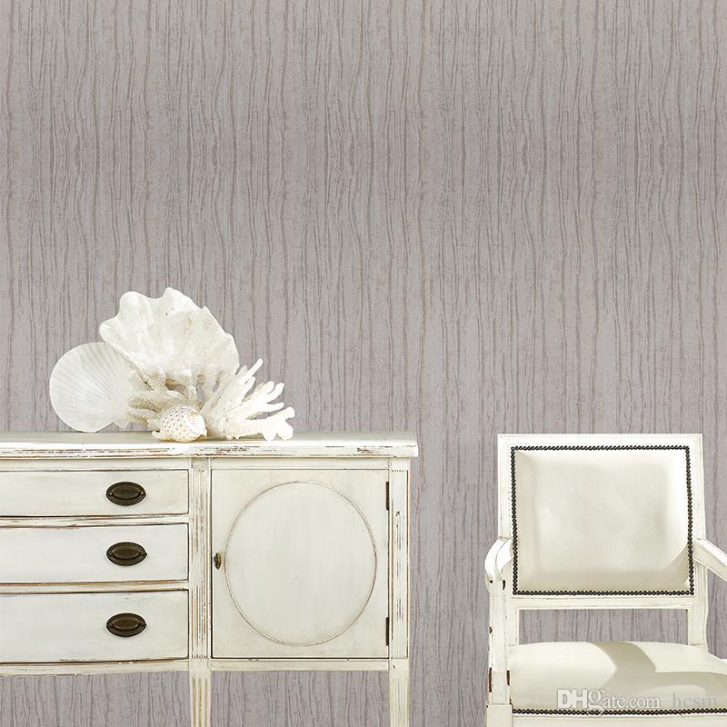 Solid Color Irregular Fringe Modern Plain Simple Wallpaper Classic