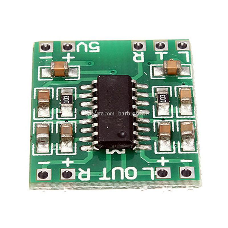 Digital DC 5V Amplifier Board Class D 2*3W USB Power PAM8403 Audio Module B00238 BARD